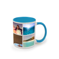 Mug Blue Coloured 325ml incl Delivery