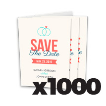 4 x 6inch Greeting Card x 1000 @ $0.59 each incl Delivery