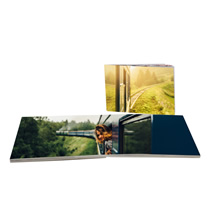 100pg 6x8inch (15x20cm) Pro Softcover Lay-Flat incl Delivery