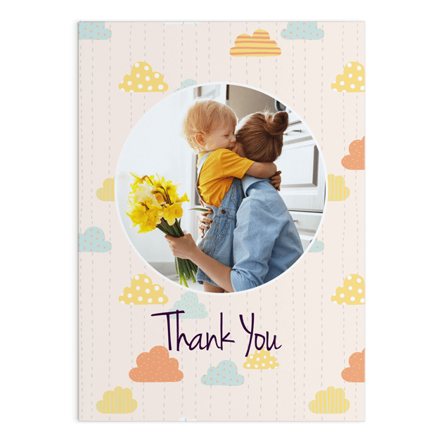 Single Greeting Card - 5x7inch