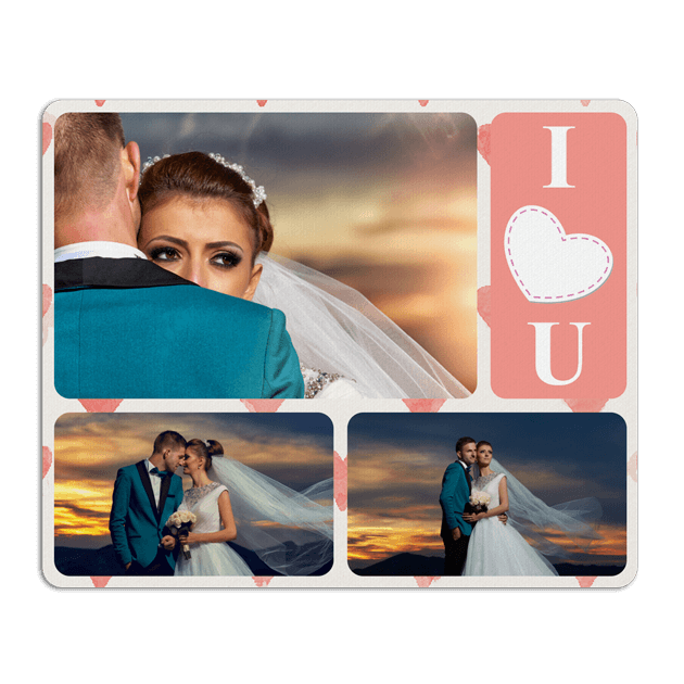 Personalised Mouse Pad Portrait 18 x 22cm