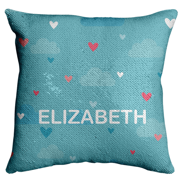 Flip Sequin Cushion Cover 40x40cm