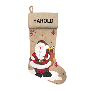 Christmas Stocking<br>Modern Santa